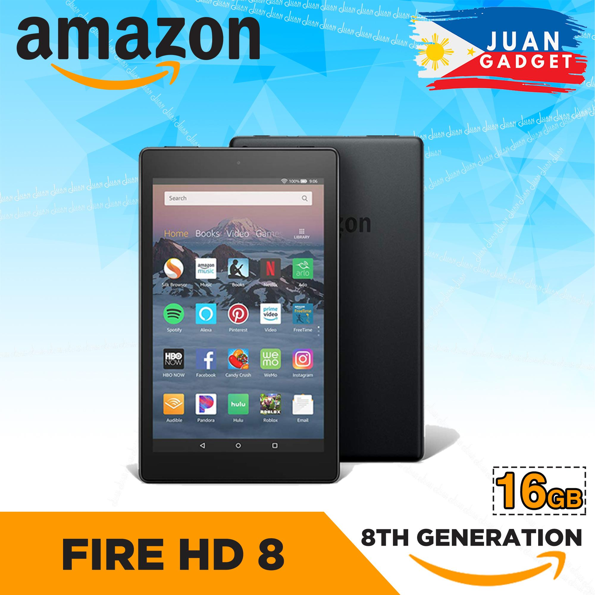 Amazon Fire Hd 8 Tablet With Alexa, 8 Hd Display 8th Geneneration By Juan Gadget.