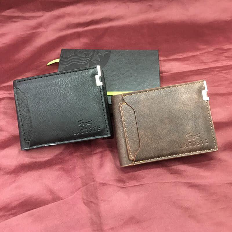 60903f95fa2 Mens Leather Wallet high Quality Lacoste (LALW1)