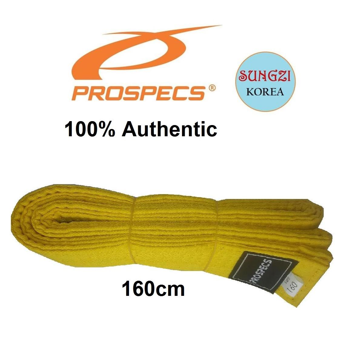 Prospecs Korean Taekwondo Yellow Belt (160cm) image