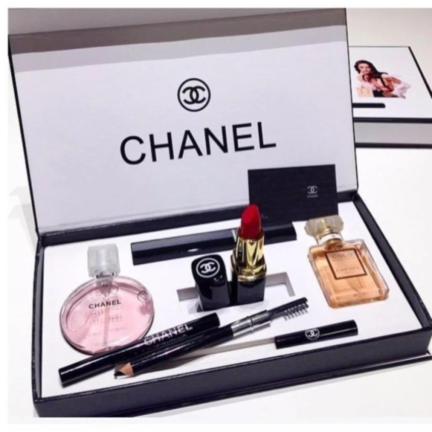 Mart Chanel Perfume Makeup Gift Set 5 in 1 (Gift Set for Women 785ae6938