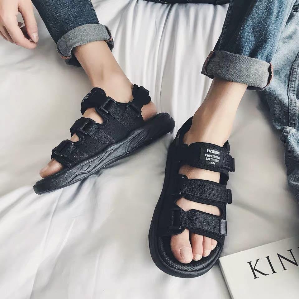 8943e90269d00e Sandals Male 2019 New Style Summer Men's Slippers Korean Style Trend Outer  Wear Summer Herringbone Sandals