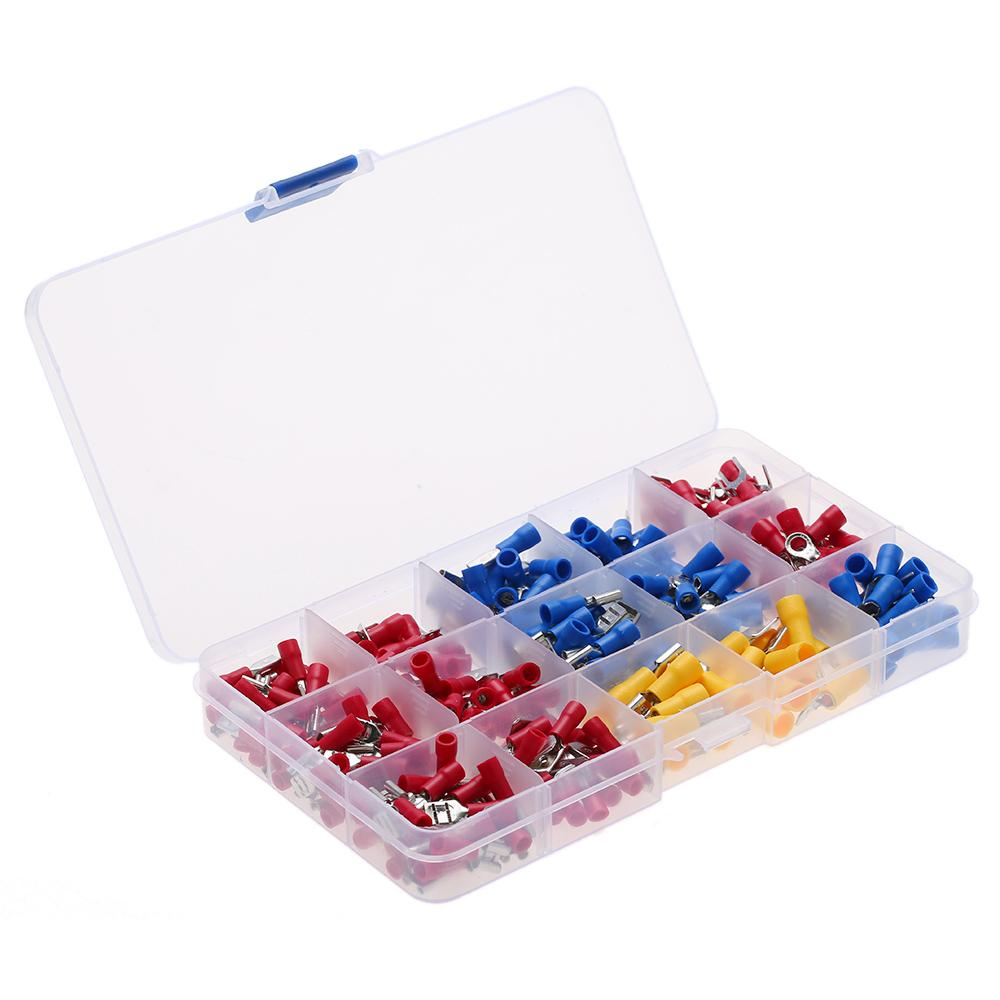 1200PCS ELECTRICAL WIRE TERMINALS ASSORTMENT SET INSULATED CRIMP CONNECTOR SPADE