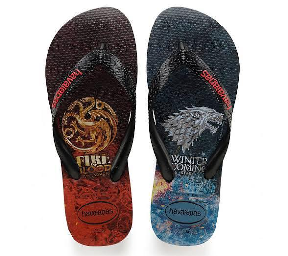 huge discount 16ac1 b1c75 Flipflops for Men Game of Thrones Edition Limited Stocks