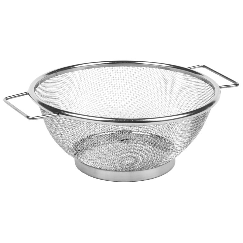 Stainless Steel Fine Mesh Strainer Bowl Drainer Vegetable Sieve Colander Sifter Giá Tốt Duy Nhất tại Lazada