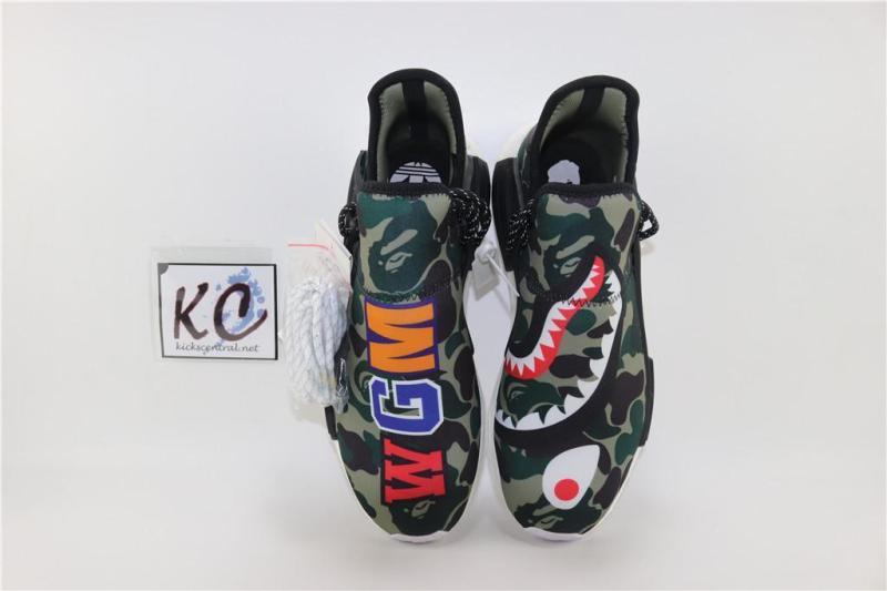 Bape x Pharrell Williams x Adidas_NMD_Human Race BB0623 Men/Women Fashion Sports Shoes/Sneakers Ready To Stock