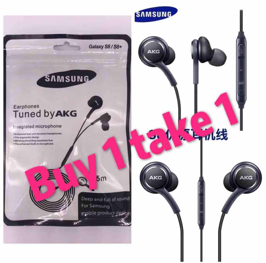 Buy 1 take 1 SamSung S8 AKG Original universal earphone /headset