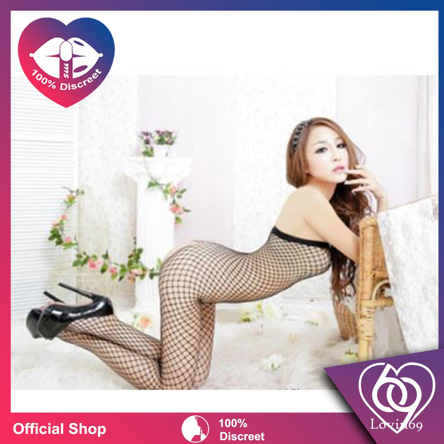 fc65646623 Lovin69 Open Crotch Sexy Fishnet Body Stockings AC0039
