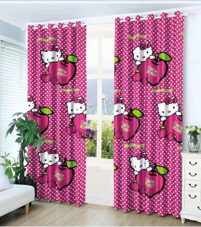 Fashionable Curtain Hello Kitty Buy Sell Online Draperies Curtains With Cheap Price Lazada Ph
