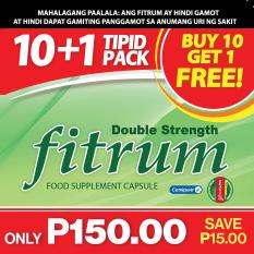 Fitrum Capsule 10+1 Promo Pack