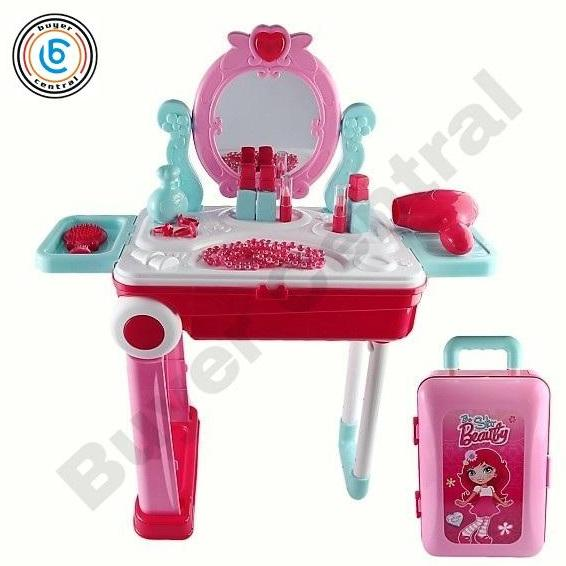 659cff260 Buyer Central Pretend Play Toys Beauty and Fashion Play Sets with Trolley  and Toy Storage for