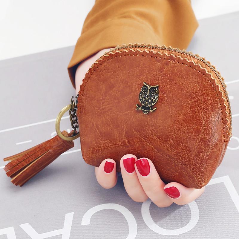 กระเป๋าสตางค์ ผู้หญิง Kqueenstar (สีน้ำตาล) By Taobao Collection.