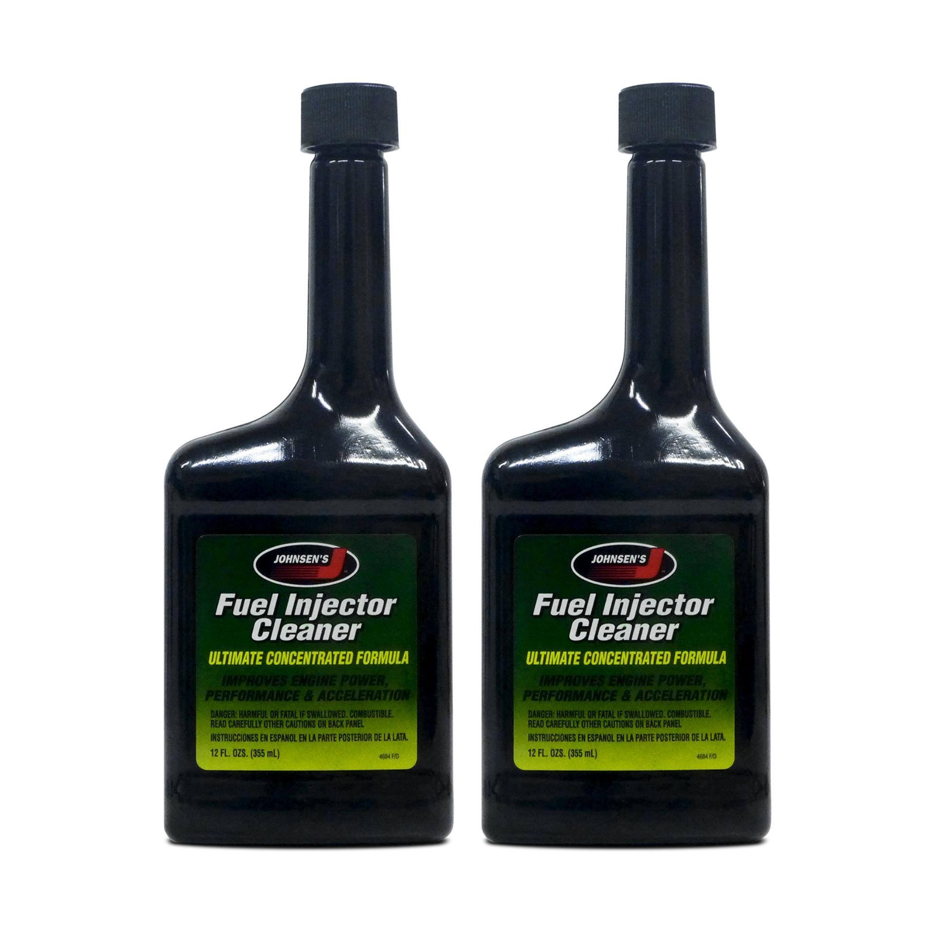 Johnsens Concentrated Fuel Injector Cleaner 12oz  PN#4684 (Pack of 2)