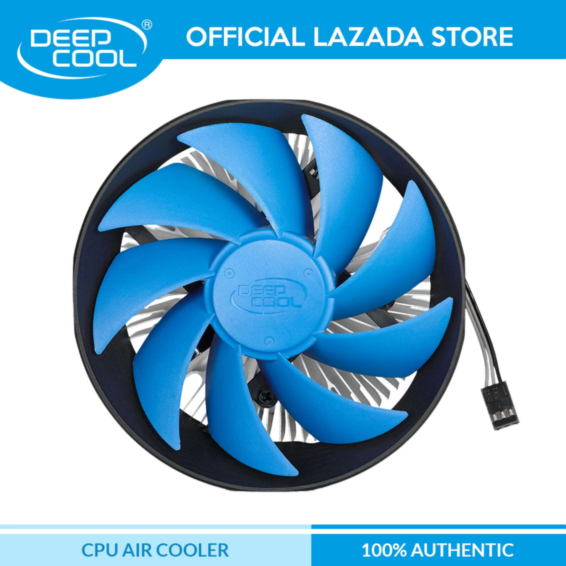 Deepcool GAMMA ARCHER Heatsink Fan, High quality Deep-cool Aluminum Heat  sink Deep Cool GAMMA-ARCHER HSF for Intel Socket LGA  775/1151/1150/1155/1156,