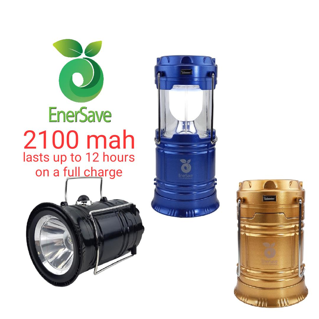 Flashlight For Sale Flash Light Prices Brands Review In Stun Gun Schematic Diagram Wishgate Enersave Solar Camping Lamp Rechargeable Lantern With Usb Output 2100mah Battery Highest
