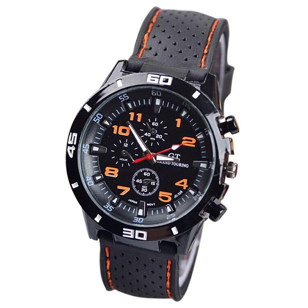GT Men Wrist Watch Silicone Watch Mens Sports watch Casual watches Cycling Analog wristwatch Malaysia