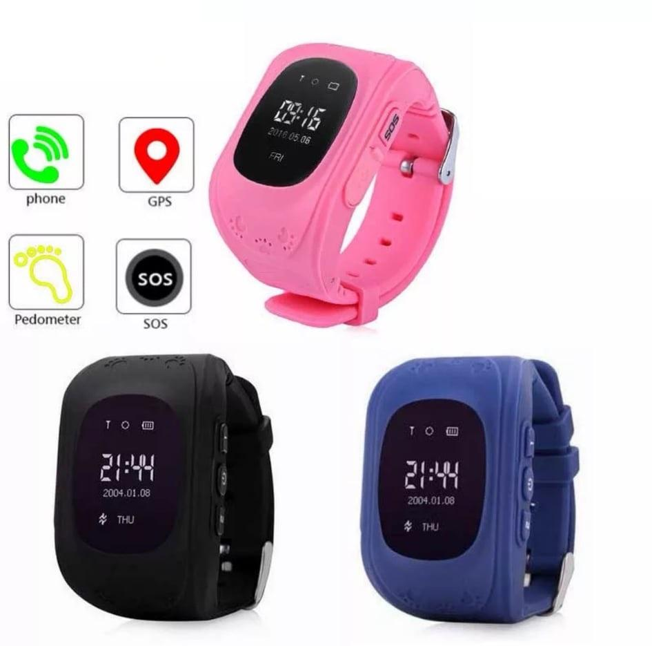 Anti-lost Children Smart Wrist Watch GPS GSM Positioning Q50 For Android IOS