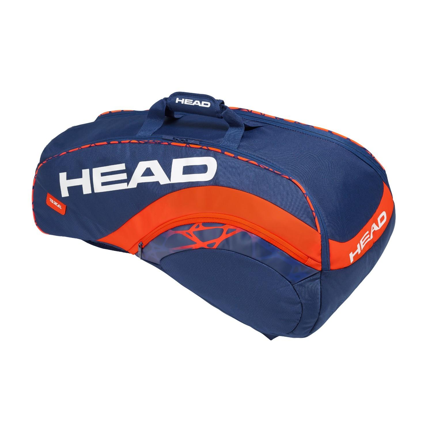 Head Radical Supercombi 9 Rackets Tennis Bag By Head.