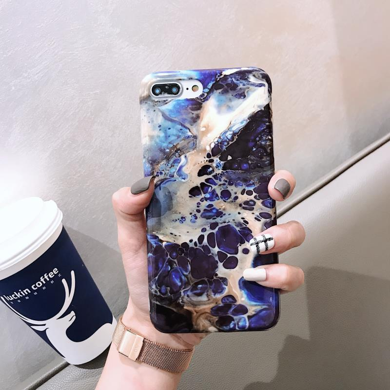 official photos f575b daed4 iPhone 7 Plus Case, iPhone 8 Plus Cases, Apple iPhone 7 / 8 Plus Marble  Soft TPU Case Luxury Brand LV Cover for iPhone 7 Plus / iPhone 8 Plus, New  ...