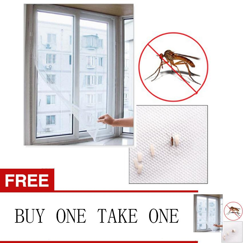 Love&home Window Screen Mesh Net Insect Fly Bug Mosquito Curtain Cover Netting Buy One Take One By Love&home.