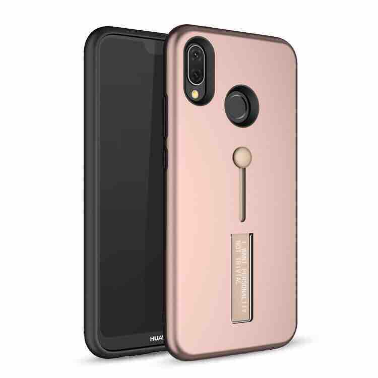 Huawei Y9(2019) Armor Back Case With Ring At Stand 3 in 1 Back Case Cover