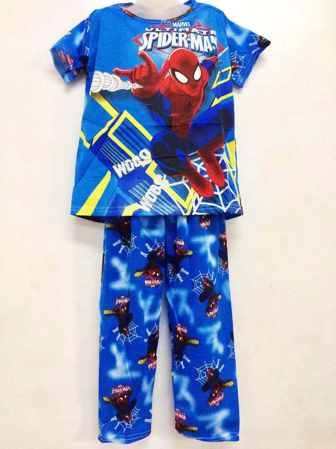 Xuebami Pajama Set Boys Kids Sleepwear Character Spidey By Xuebamiph.