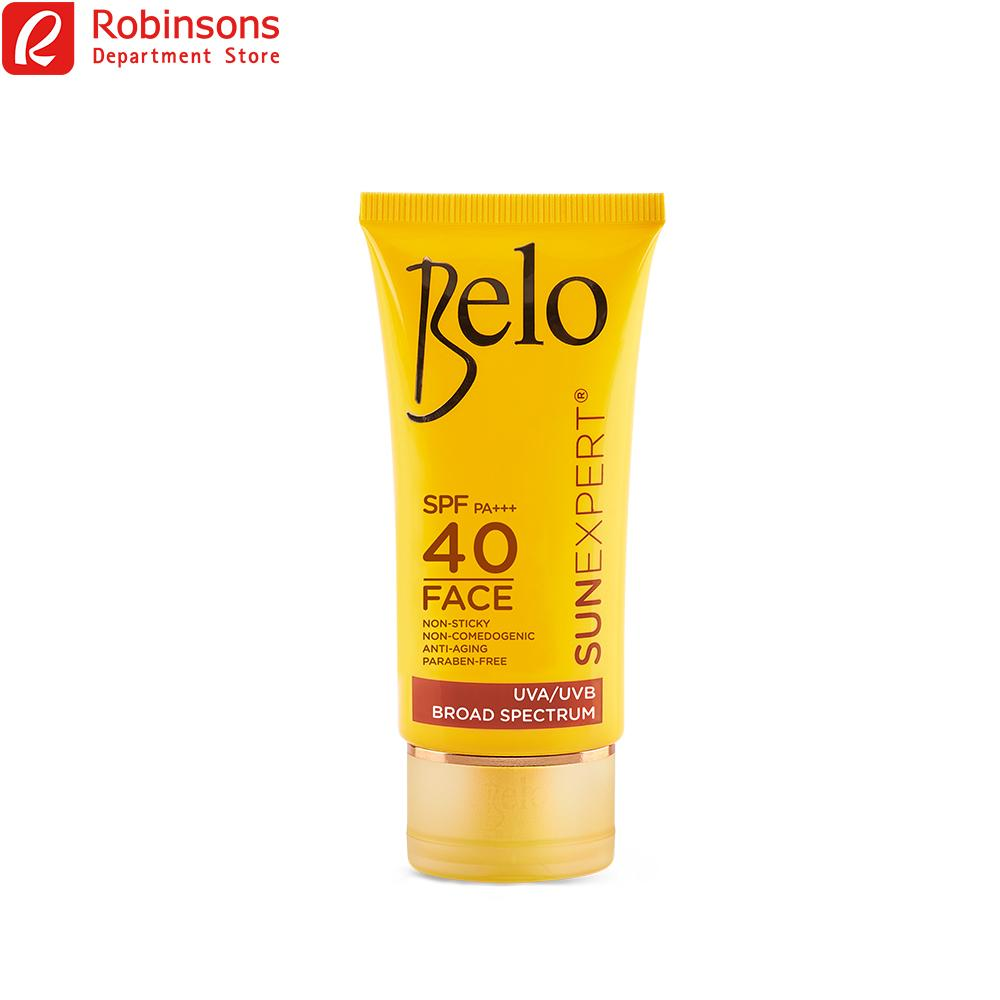 Belo Essentials Sun Expert Face Cover Spf 40 50ml By Robinsons Department Store.