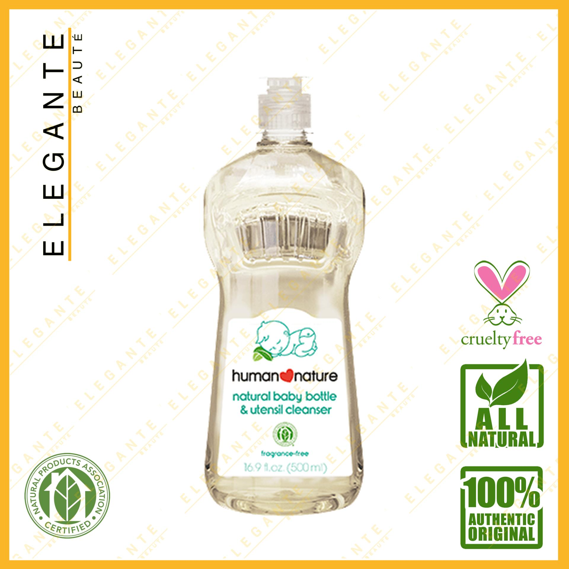 Elegante Beaute Human Nature Natural Baby Bottle And Utensil Cleaner 500ml By Elegante Beaute.