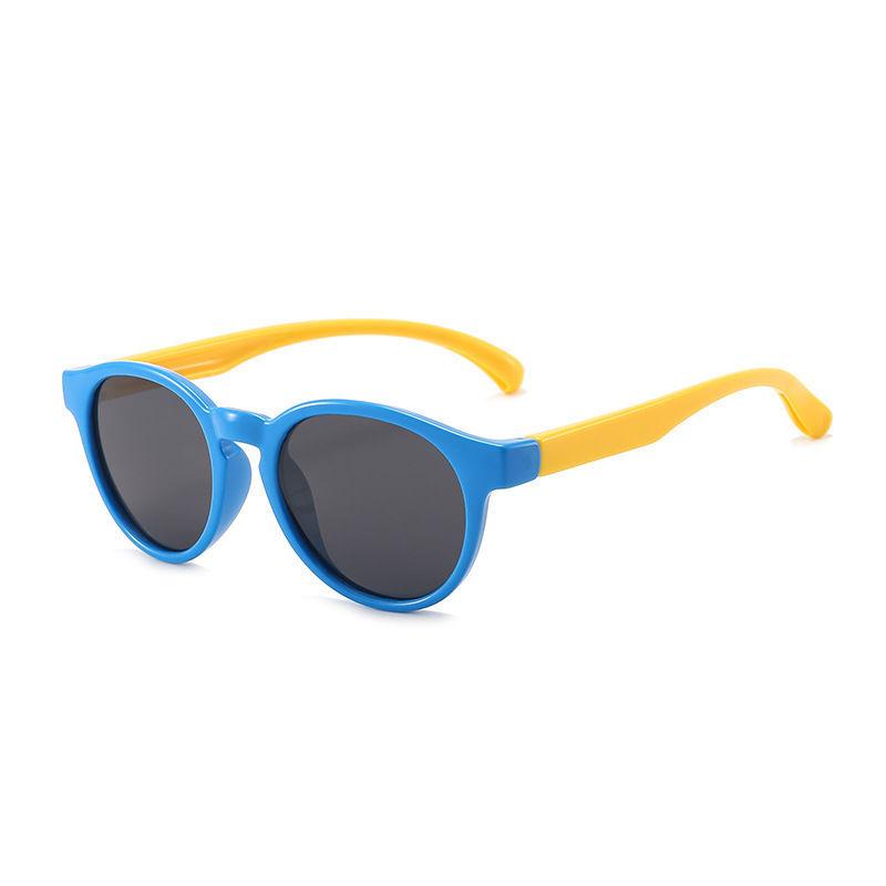 Mua 2020 Kính mát silicon mới cho trẻ em kính mặt trời cực quang thời trang của phim hoạt hình thanh bảo vệ tia UV thẳng nhíHYTRnjhg
