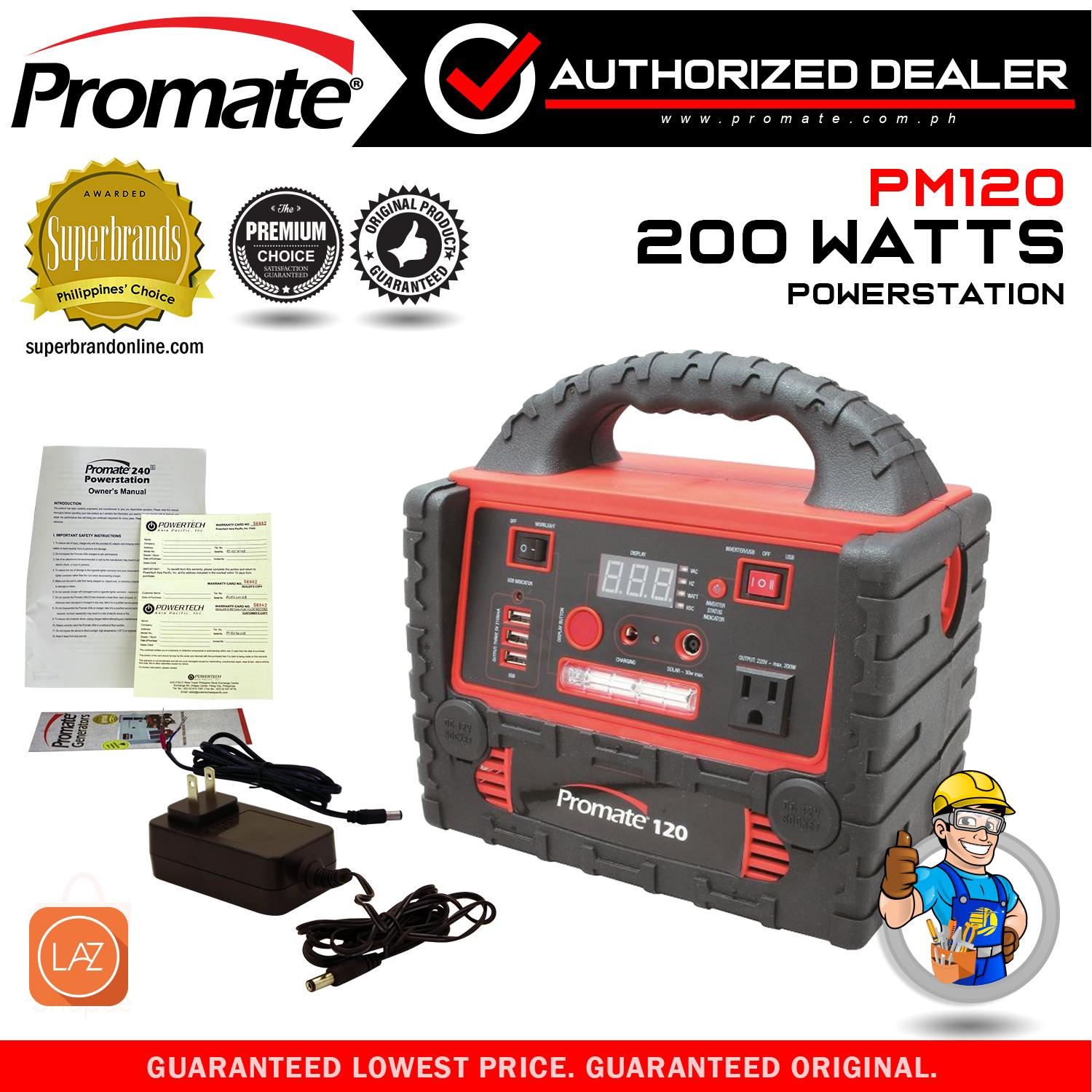 PROMATE Powerstation 120 PS120
