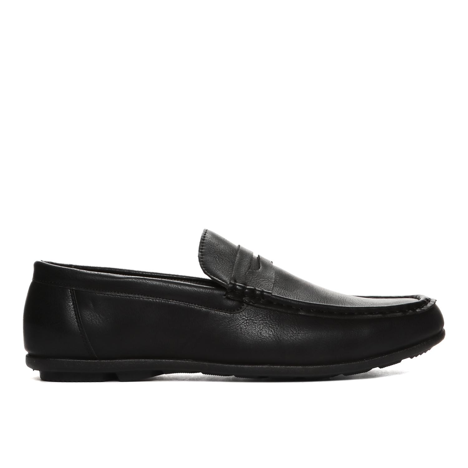b3a5d375cf9 Milanos Mens Kulver Loafers in Black
