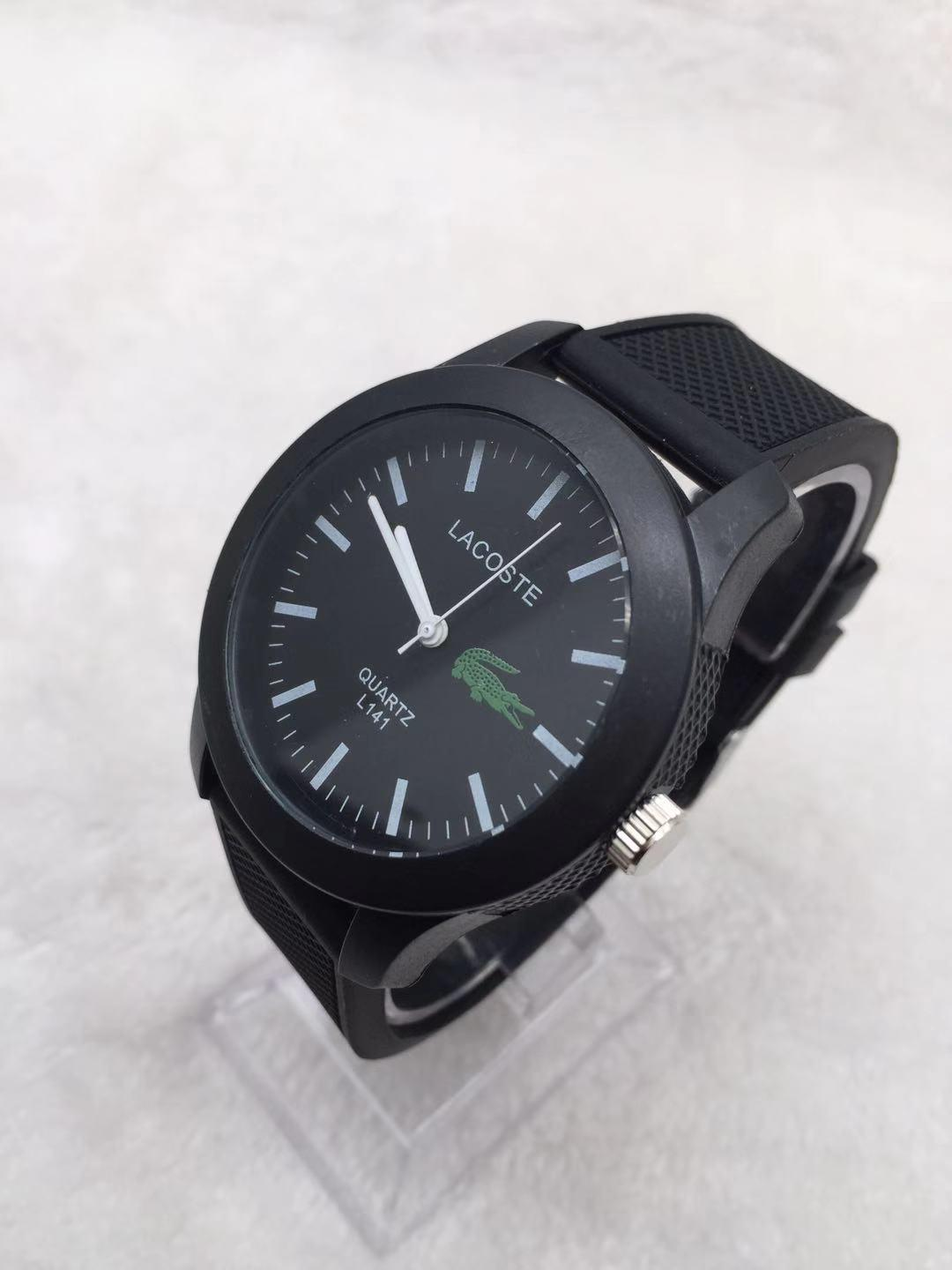 Lcmall New Lacoste Simple Leisure Fashion Exquisite Watch F6 L203 L141
