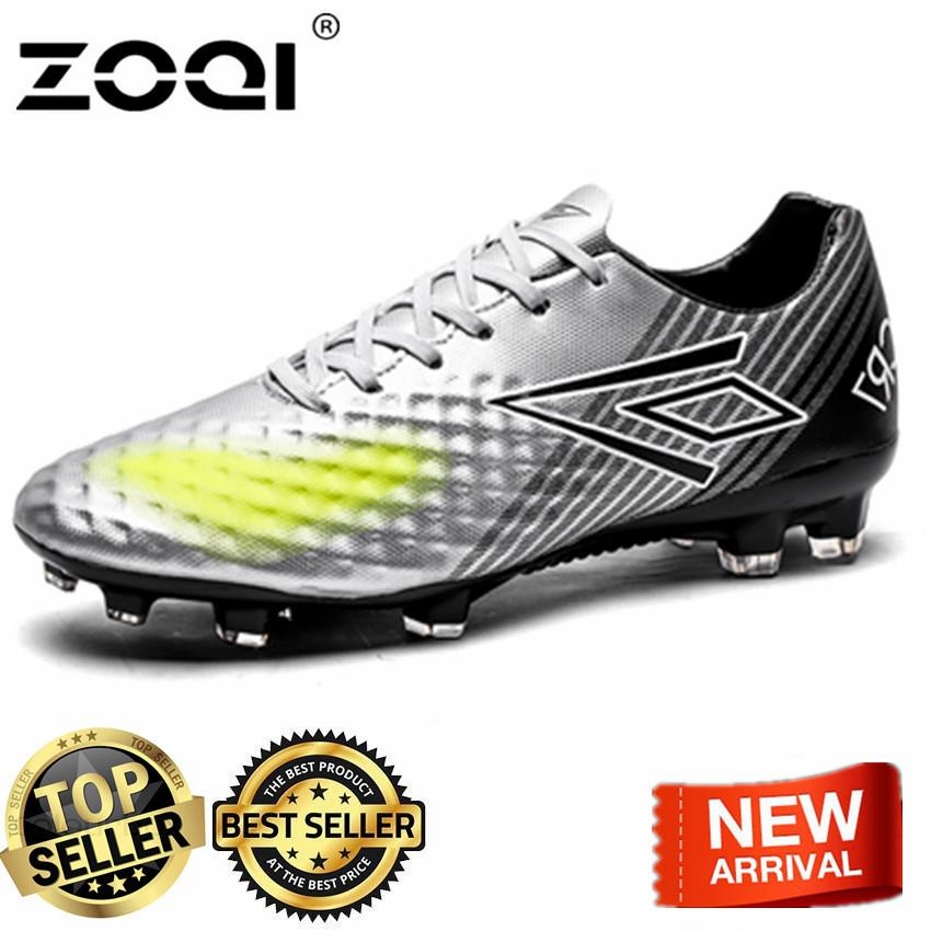 a5fcec1ab ZOQI Indoor Futsal Soccer Boots Football Shoes