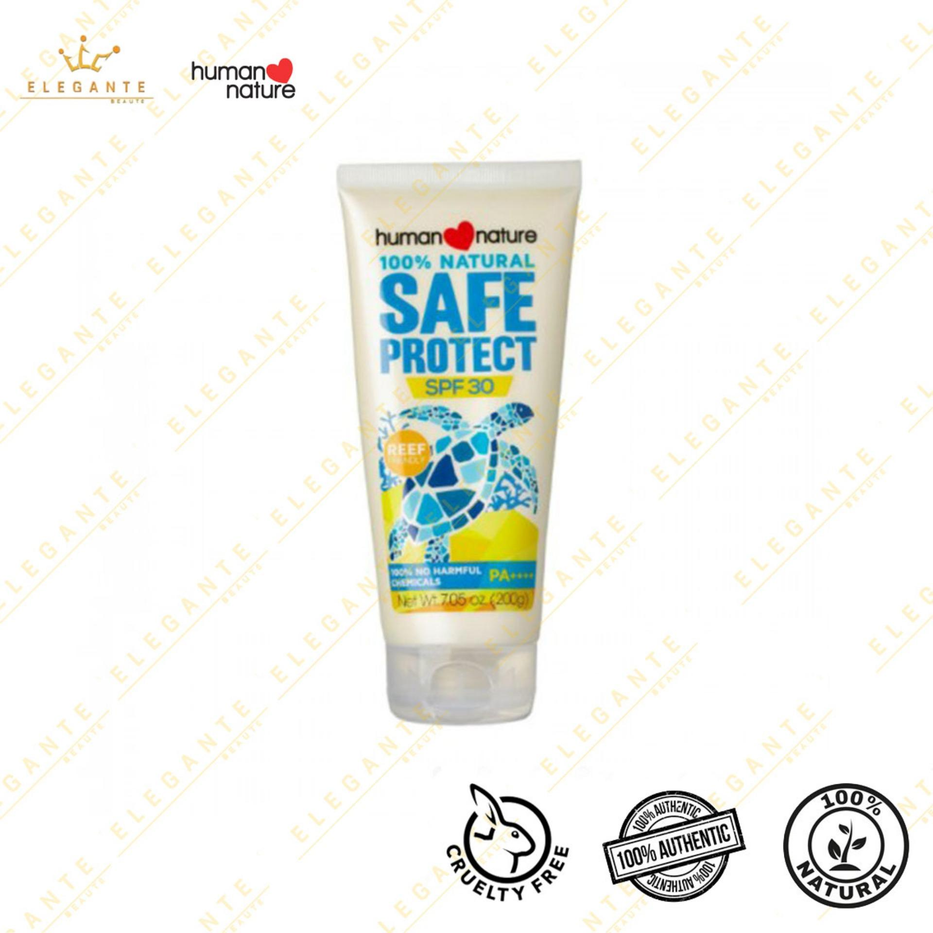 Elegante Beaute Human Nature Natural Sunscreen Spf 30 200g By Elegante Beaute.