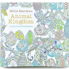 1pcs Animal Kingdom 2016 New Secret Garden An Inky Treasure Hunt And Coloring Book For