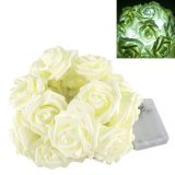 2.2m 20LED Rose Flower Fairy String Lights Wedding Garden Party Christmas Decoration- Intl - thumbnail 3