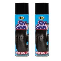 2 cans Bosny Tire Shine