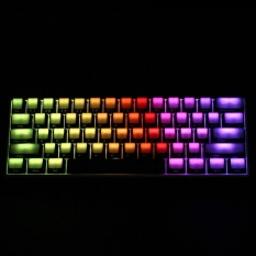 04 Key All-Transparent Keycaps ABS Side Printed Thick Keycaps RGB Machanical Keyboard Switch For