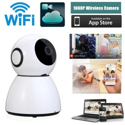 1080P 2 Million Pixel Surveillance Camera with UL Certification EU White - intl