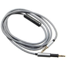 PHP 872 1.2M Headphone Cable Cord With Mic .