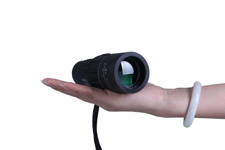 16x52 hd optics zoom lens night and day vision monocular telescope