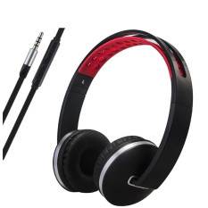 2016 High Quality Stereo Lightweight Foldable Headphones Adjustable Headband Headsets with Microphone and volume control 3.5