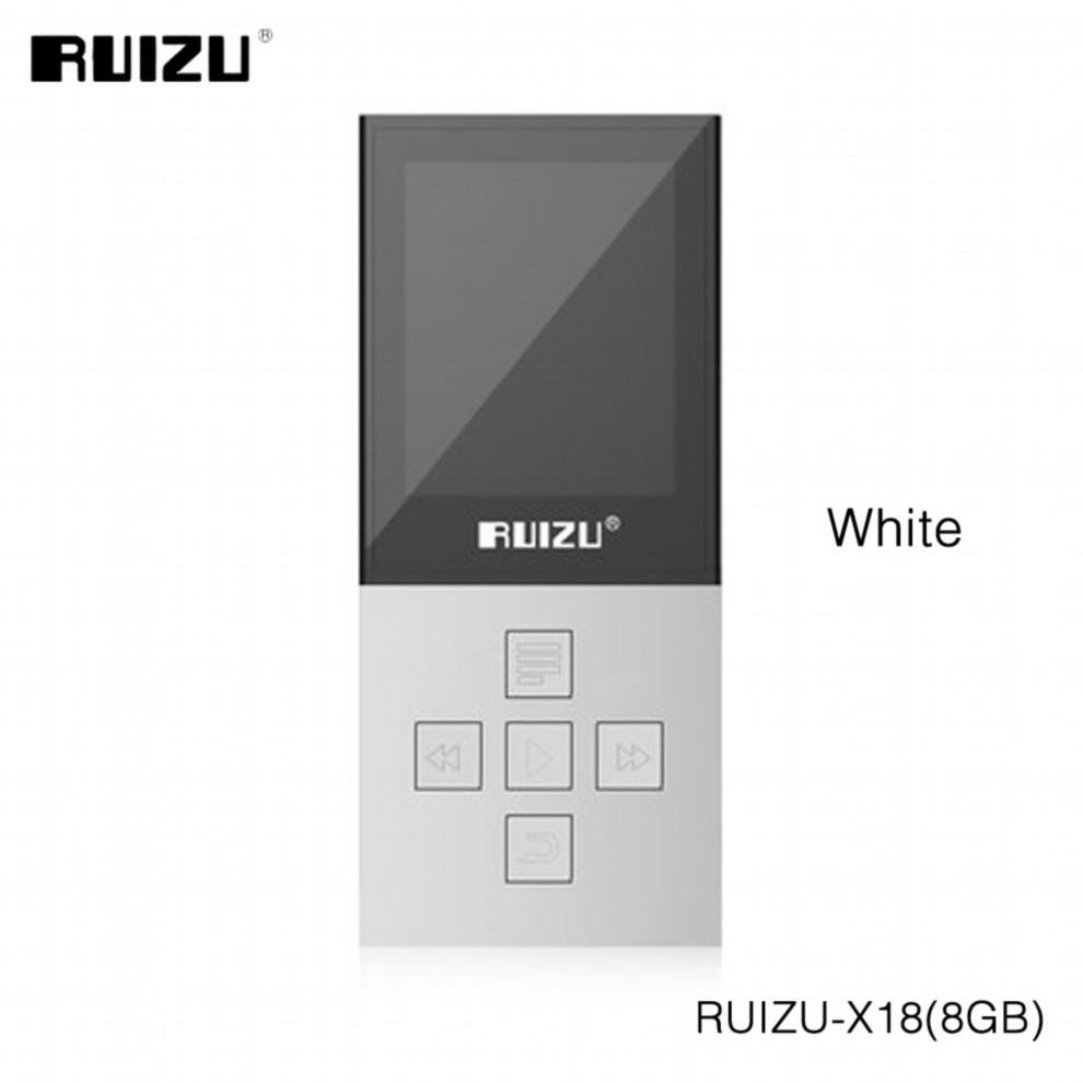 Mp3 player for sale music player prices brands specs in 2017 original ruizu x18 8g bluetooth sport mp3 player lossless recorder fm radio bluetooth 40 music fandeluxe Gallery