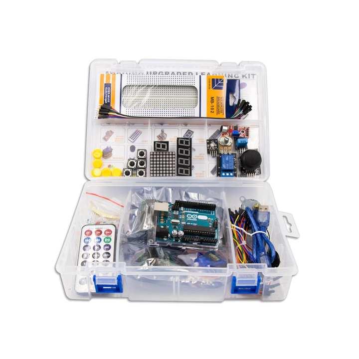 Arduino advanced upgraded starter kit v with manual