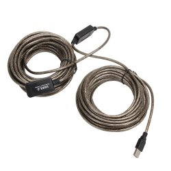 20M USB 2.0 Male To Female Extension Line Cable High Speed Wire Data Adapter - intl