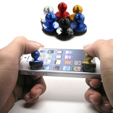 2Pcs Small Size Stick Game Joystick Joypad For iPhone for Pad Touch Screen Mobile phone Mini