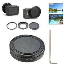 3 In 1 52mm Uv Filter + Lens Cap Cover +adapter Ring +wrench For Gopro Hero 5 6 - Intl By Freebang.