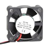 3010S 12V Cooler Brushless DC Fan 30x10mm Mini Cooling Radiator - thumbnail 4