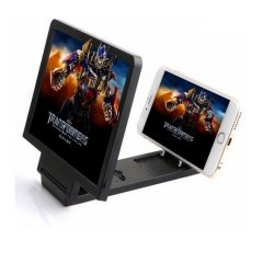 3D Enlarged Screen Glass Magnifier (Black)