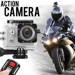 "4K Ultra HD 2"" Wi-Fi Sports Action Camera (White)"