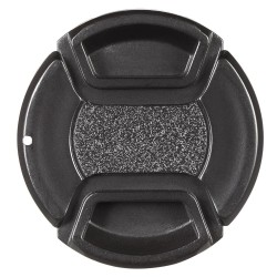 55mm Center Pinch Snap-on Lens Cap Cover Keeper Holder for Canon Nikon Sony Olympus DSLR Camera Camcorder - intl